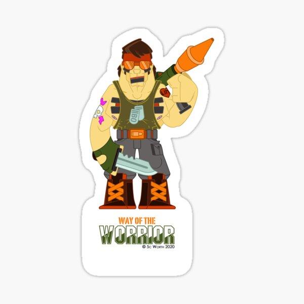 Nambo - Warrior 4 Sticker