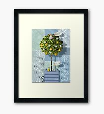 ...and a partridge in a pear tree Framed Print