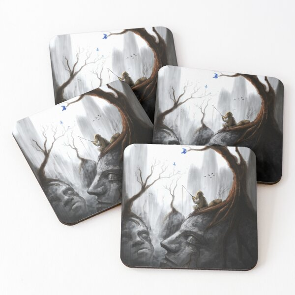 Valley of Stone Coasters (Set of 4)