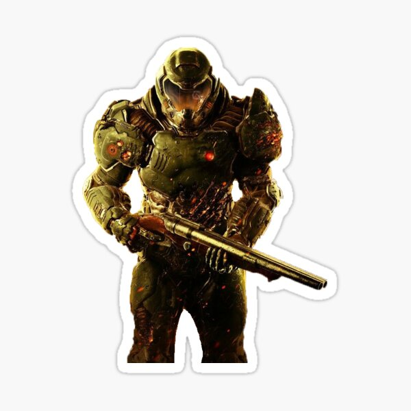 Doom Eternal 2020 Sticker