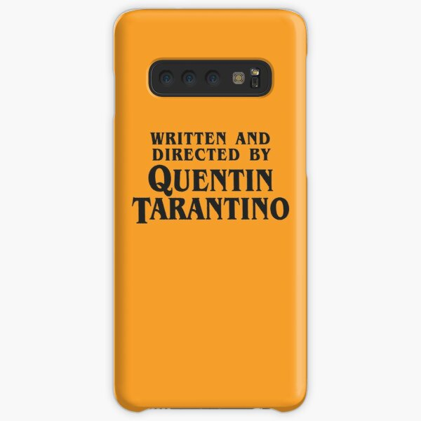 Written and Directed by Quentin Tarantino (dark) Samsung Galaxy Snap Case