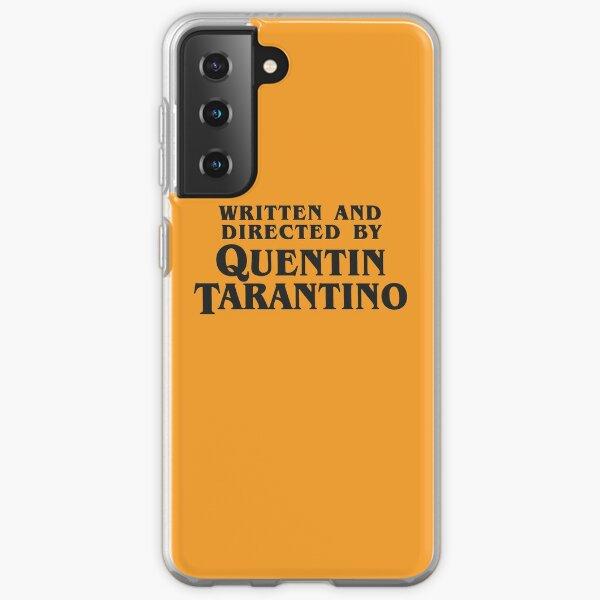 Written and Directed by Quentin Tarantino (dark) Samsung Galaxy Soft Case