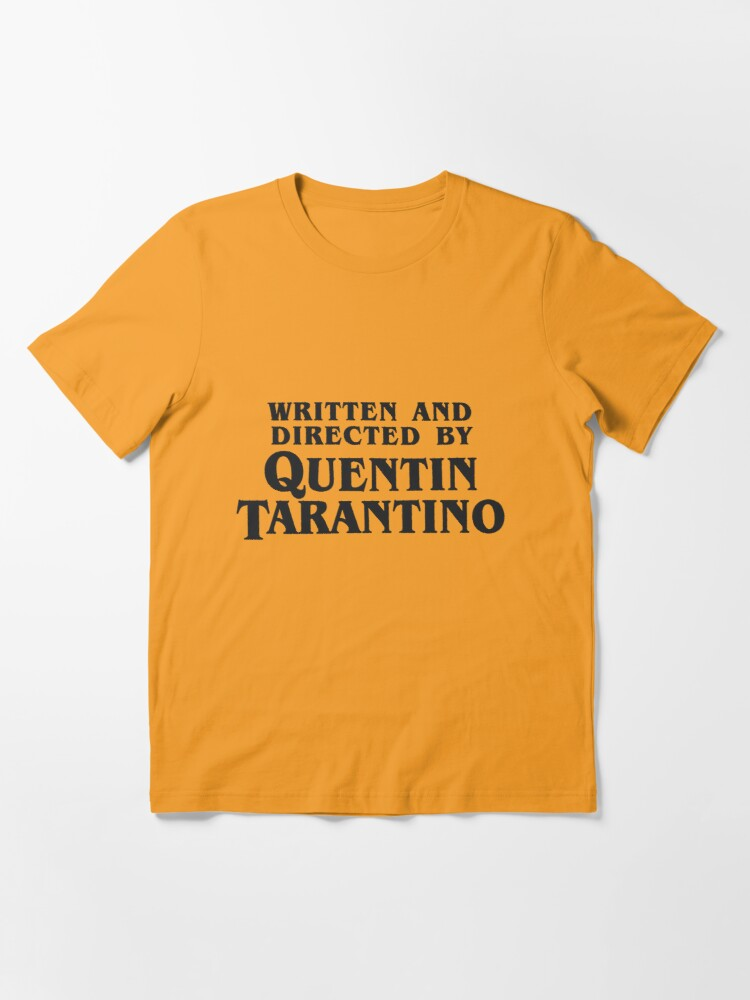 Alternate view of Written and Directed by Quentin Tarantino (dark) Essential T-Shirt