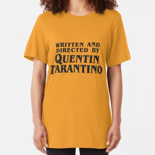 Drehbuch und Regie Quentin Tarantino (dunkel) Slim Fit T-Shirt