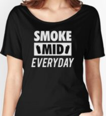 Smoke Mid Everyday Women's Relaxed Fit T-Shirt