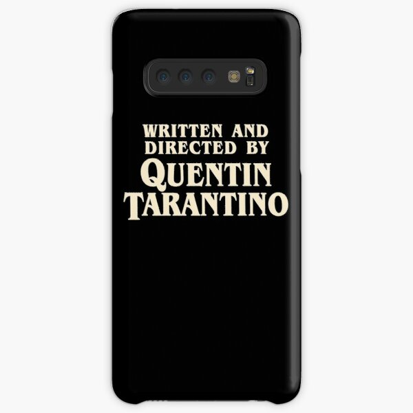 Written and Directed by Quentin Tarantino (original) Samsung Galaxy Snap Case