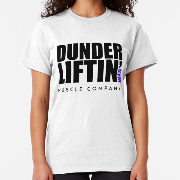 Dunder Lifting Gym Muscle Company Classic T-Shirt