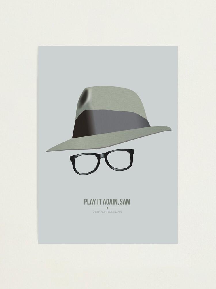 Alternate view of Play It Again, Sam - Alternative Movie Poster Photographic Print