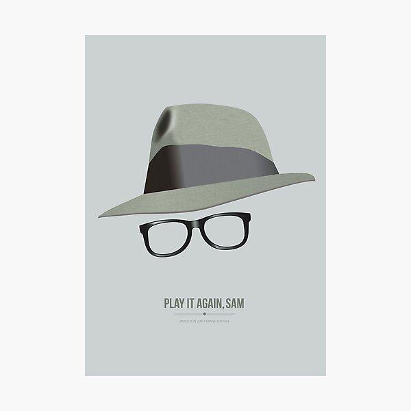 Play It Again, Sam - Alternative Movie Poster Photographic Print