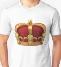 Gold imperial crown Unisex T-Shirt