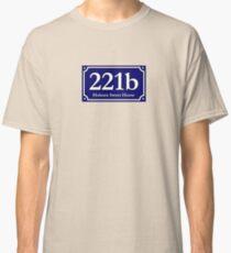 221b - Holmes Sweet Home Classic T-Shirt