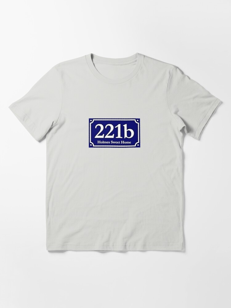 Alternate view of 221b - Holmes Sweet Home Essential T-Shirt