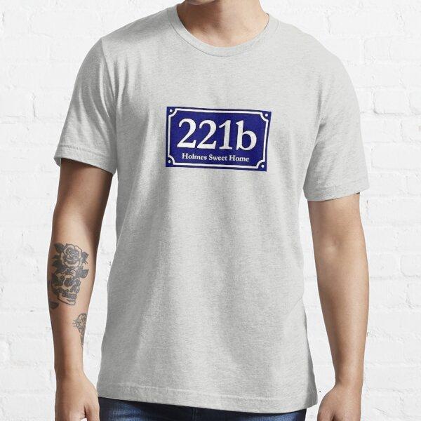 221b - Holmes Sweet Home Essential T-Shirt