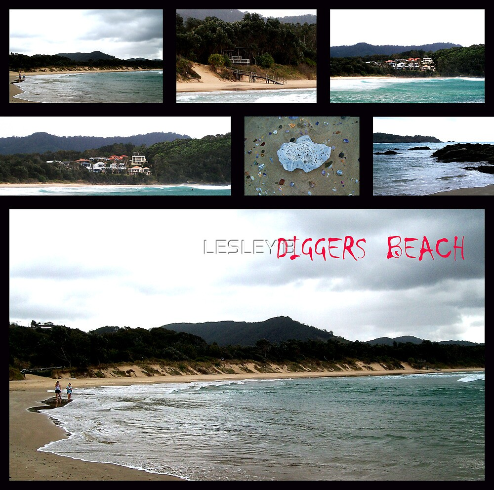 Diggers Beach 2 (Coffs Harbour NSW Australia) by LESLEY BUtler