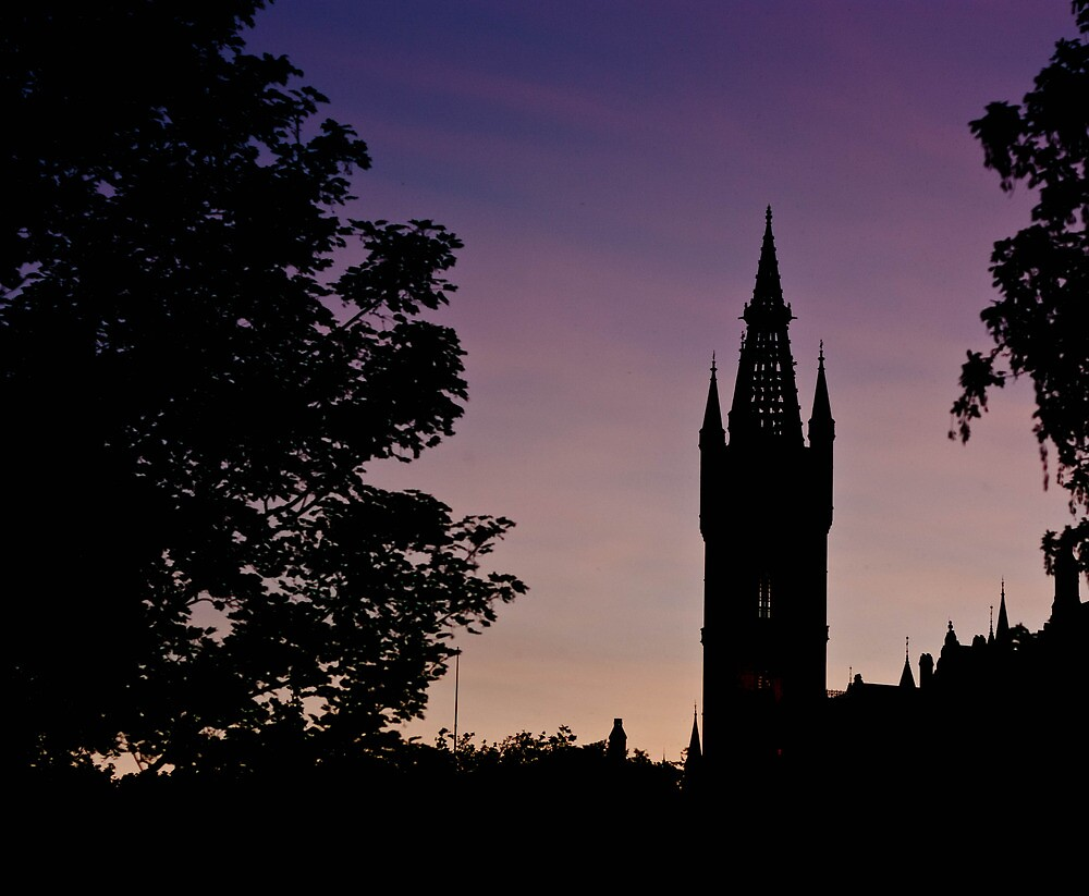 Spire in the Gloaming by Daniel Williams