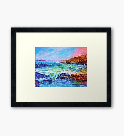 Blustery Bay Framed Print