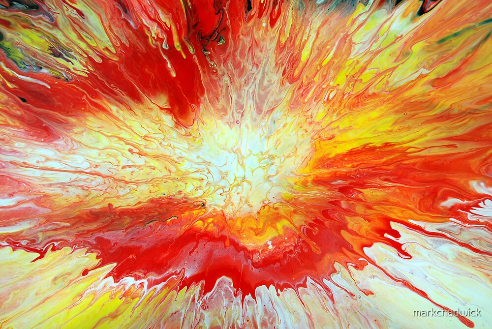Abstract Fluid Explosion by markchadwick