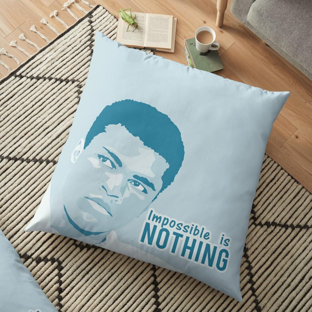 muhammad ali  Floor Pillow