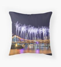 The Opening Salvo Throw Pillow