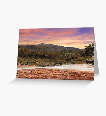 Mt Dale - Western Australia  Greeting Card