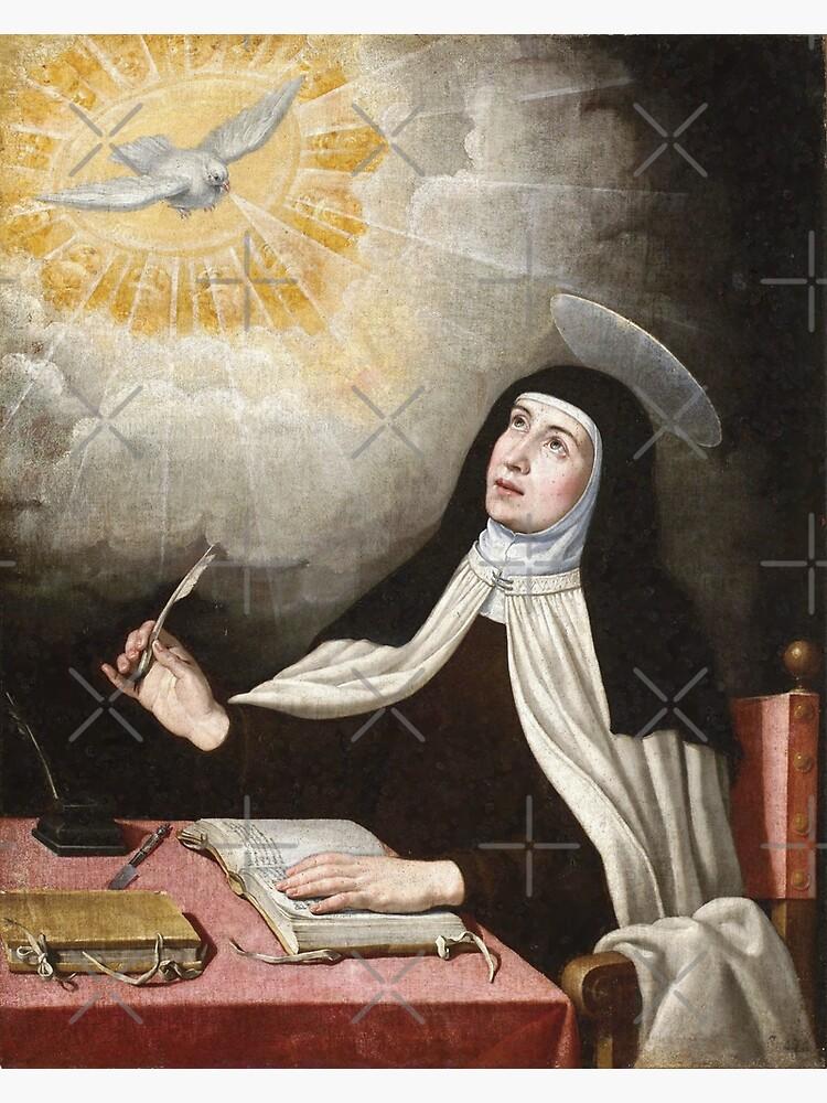 Pintura de Santa Teresa de Ávila de Beltschazar