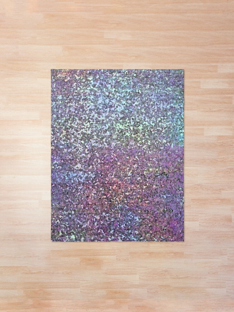 Alternate view of Glitter Sparkle Glam Shiny Print  Comforter