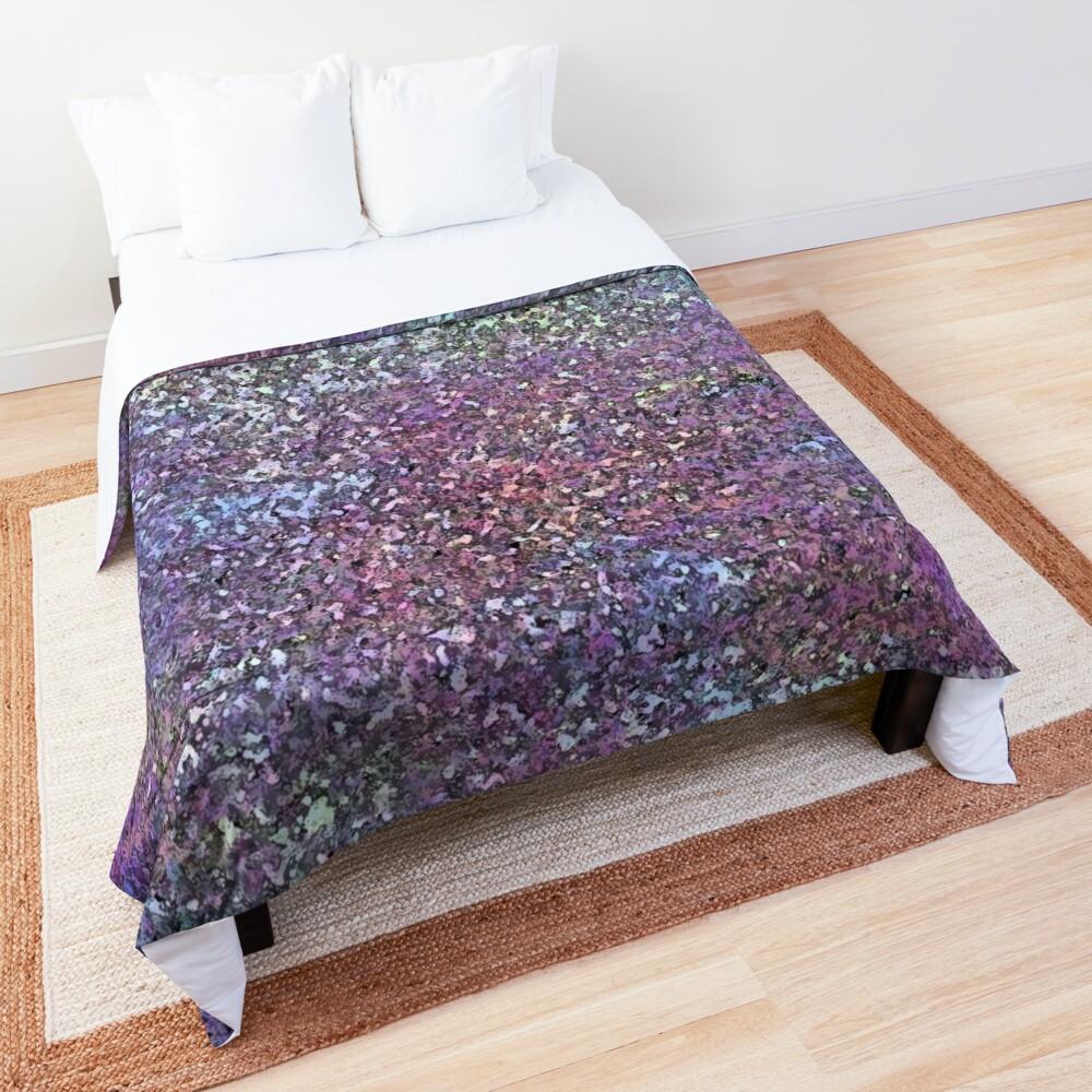 Glitter Sparkle Glam Shiny Print  Comforter