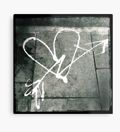 Pavement Love Metal Print