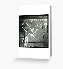 Pavement Love Greeting Card