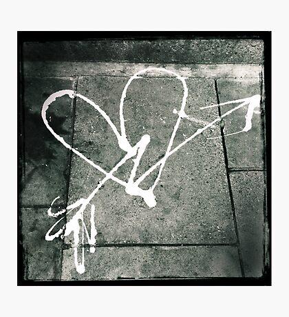 Pavement Love Photographic Print