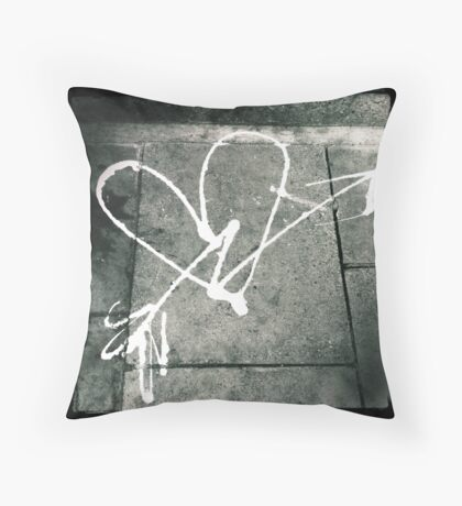Pavement Love Throw Pillow