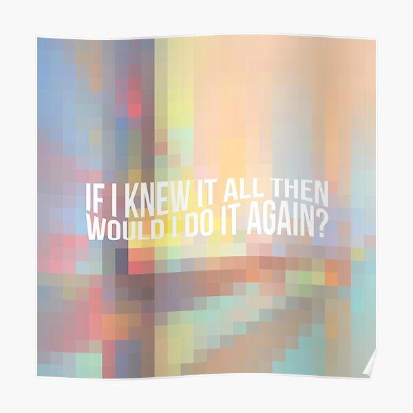 Billie Eilish everything i wanted album Poster