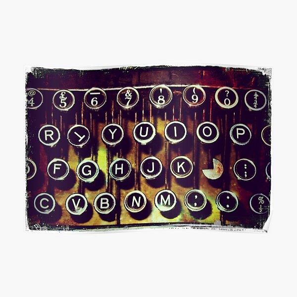 Enigma - Typewriter I Poster