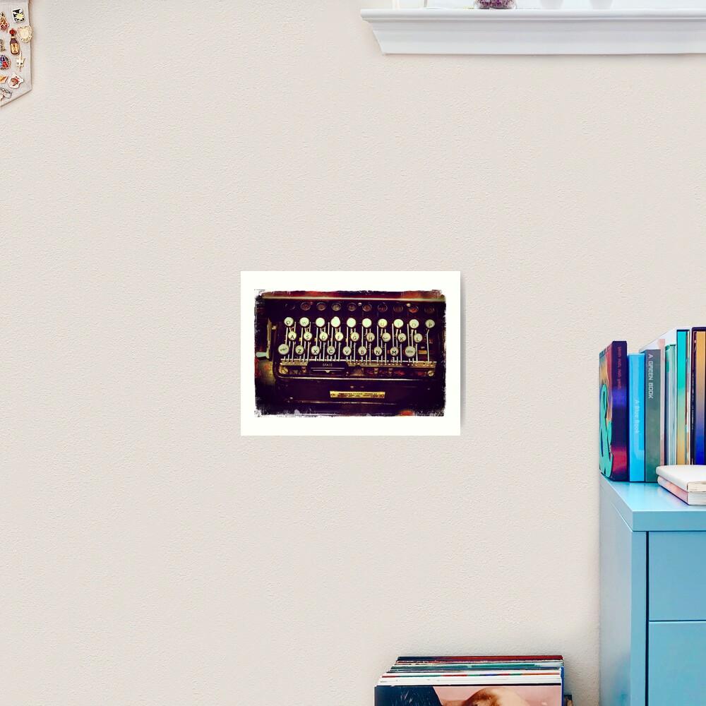 Enigma - Typewriter II Art Print