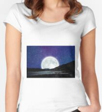 Eternity Waits For No One Women's Fitted Scoop T-Shirt