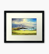 Turnberry Golf Course Scotland Framed Print