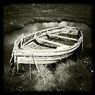 Old Rowing Boat - Brancaster Staithe, Norfolk, UK by Richard Flint