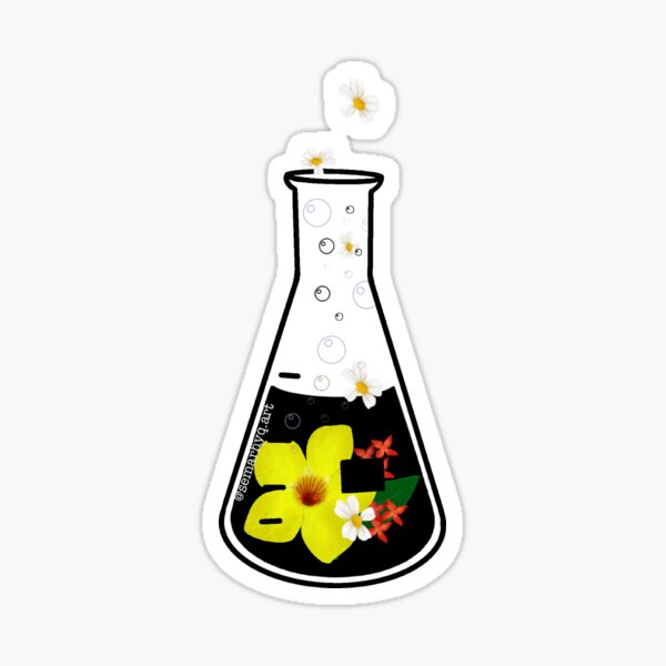 Conical flask Sticker