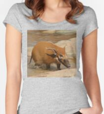 Red River Hog Women's Fitted Scoop T-Shirt