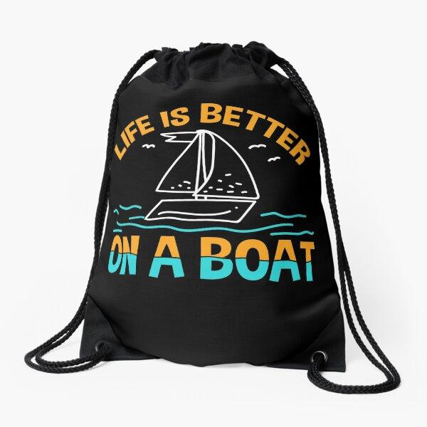 Boating Drawstring Bag