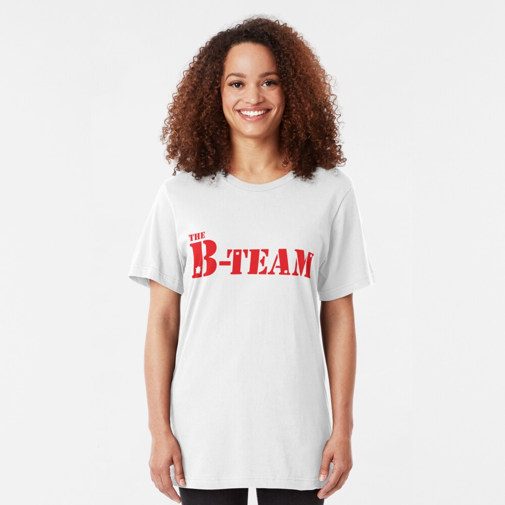 El equipo B Camiseta ajustada