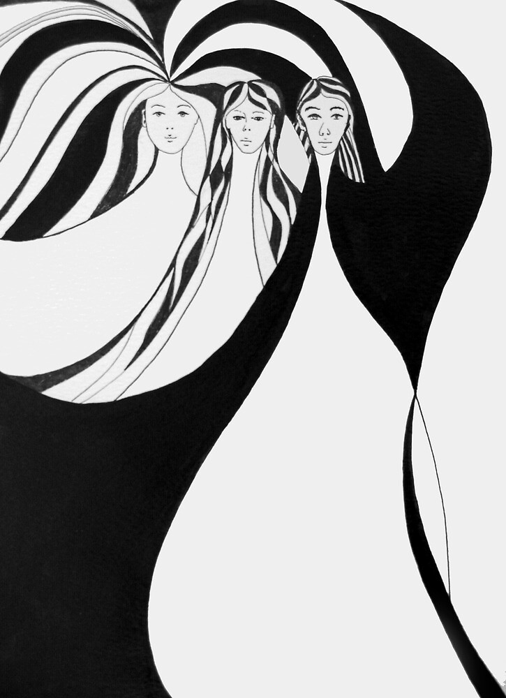 Three Graces by Mike Paget