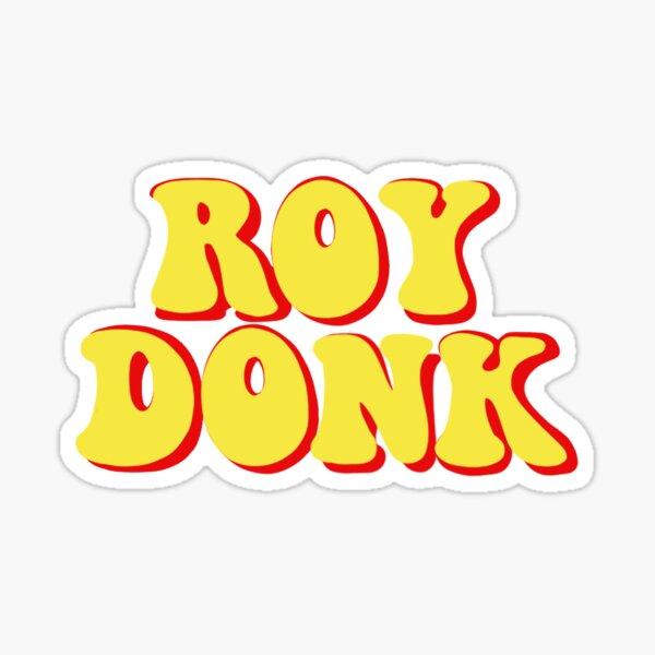 roy donk Sticker