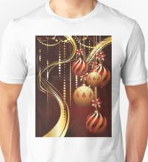 Decorative Gold Xmas Balls 4 T-Shirt
