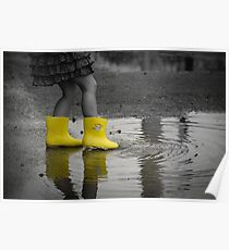 My Yellow Gumboots Poster