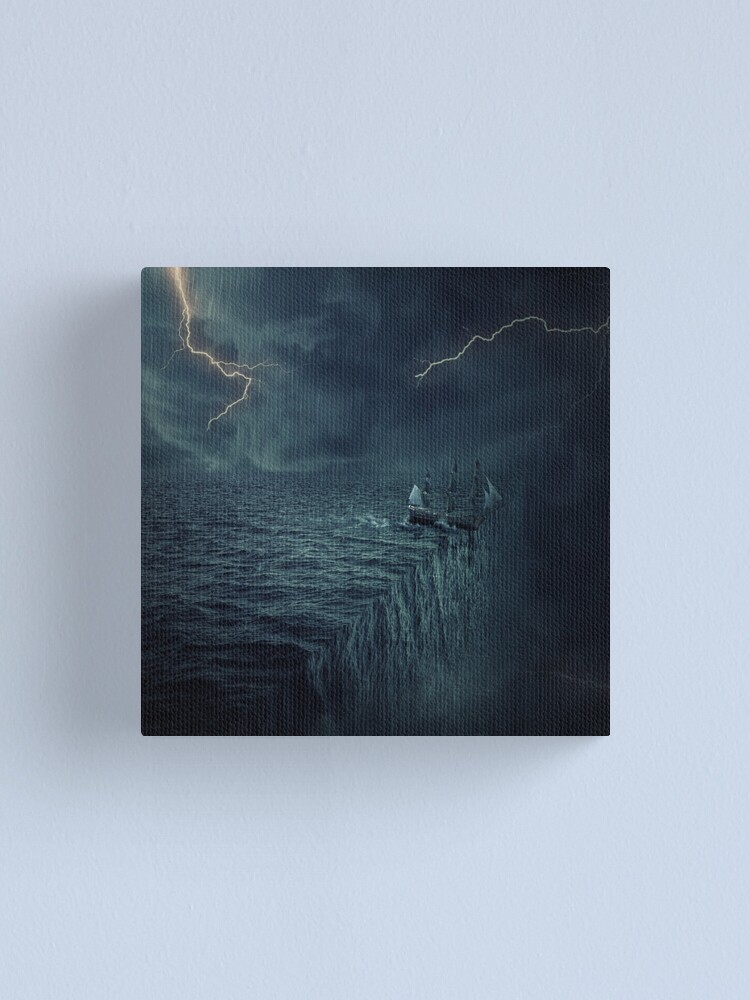 Alternate view of to the end of the world Canvas Print