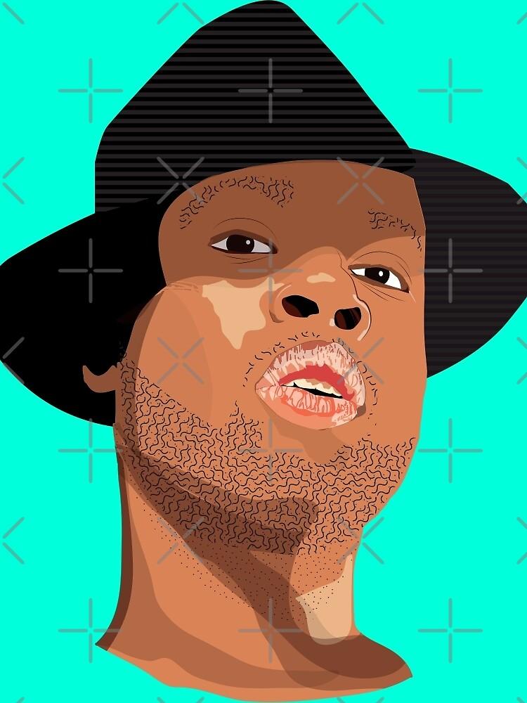 Hip Hop Illustration by SamuelMolina