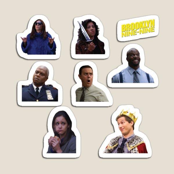 Brooklyn 99 sticker pack Magnet