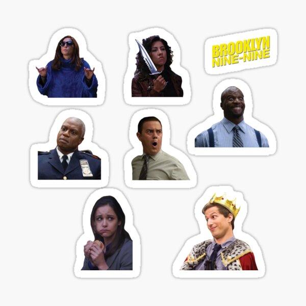 Brooklyn 99 sticker pack Sticker