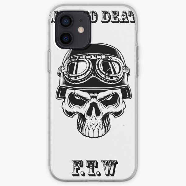 Ride to death Coque souple iPhone